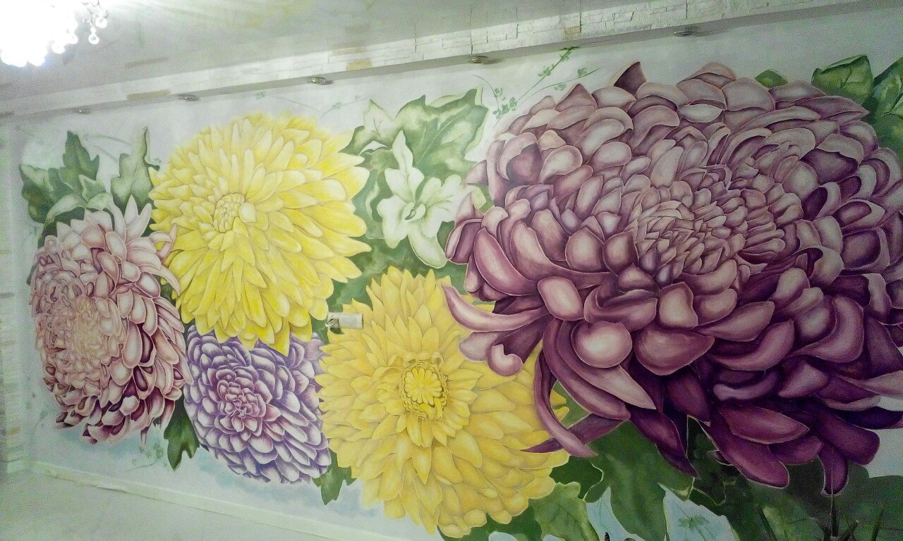 Роспись и декорация стен в Новороссийсе